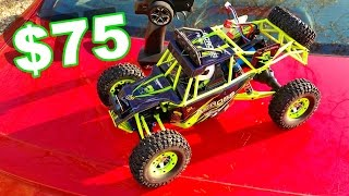 Download AWESOME MUST HAVE RC TRUCK $75 - WLtoys 4WD W/ Lights 1/12 Scale! - TheRcSaylors Video