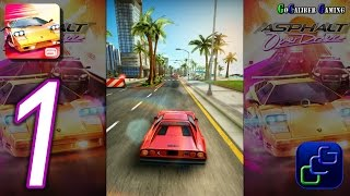 Download Asphalt OverDrive Android Walkthrough - Gameplay Part 1 - Getaway, Stunt Run, Destruction Video