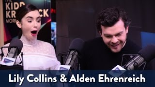 Download Lily Collins and Alden Ehrenreich on ″Rules Don't Apply″ Video