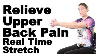 Download Relieve Upper Back Pain with This Real Time Rhomboid Stretch - Ask Doctor Jo Video