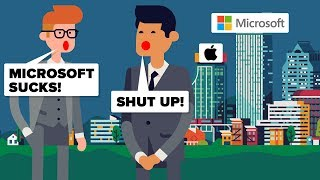 Download Is Microsoft Actually More Successful Than Apple? Microsoft vs Apple - Tech Company Comparison Video