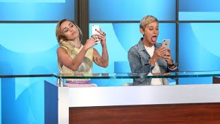 Download Miley Cyrus Schools Ellen on Millennials Video
