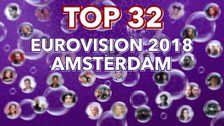 Download TOP 32 Eurovision 2018 Amsterdam Pre Party Video