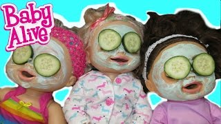 Download BABY ALIVE Surprise Spa Day AND Dress Up With Baby Alive Dolls! Video