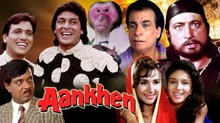 Download Aankhen Full Movie in HD | Govinda Hindi Comedy Movie | Chunky Pandey | Bollywood Comedy Movie Video
