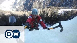 Download Ice climbing in the Dolomites   Euromaxx Video