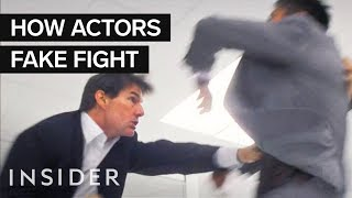 Download How Actors Fake Fight In Movies Video