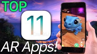 Download BEST 11 Top iOS 11 Apps, Augmented Reality, ARKit (AR Games) Video