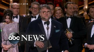 Download 'Shape of Water' wins big at 2018 Oscars Video