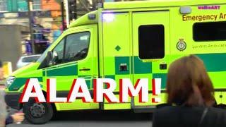 Download Alarm in London - Police & Emergency Ambulance - Polizei & Rettungswagen Video