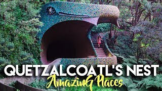Download FASCINATING SNAKE HOUSE IN MEXICO CITY | QUETZALCOATL'S NEST Video
