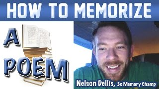 Download 🔥 How to Memorize a Poem - Nelson Dellis | Memory Experts Training | USA Champion | Remember Poetry Video
