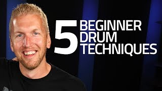 Download 5 Beginner Drum Techniques You Must Know Video