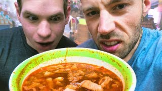 Download Eating PANCITA MEXICANA?! 😳Street Food in Coyoacan Mexico City | Exploring with Cody Video