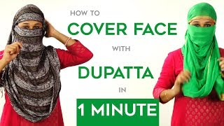 Download How to Wrap Face with Dupatta in Just 1 Minute Video