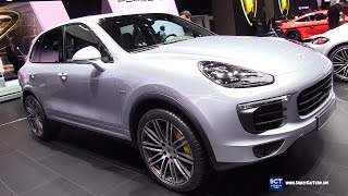 Download 2017 Porsche Cayenne S Diesel - Exterior and Interior Walkaround - 2017 Geneva Motor Show Video