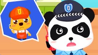 Download Baby Panda's Brave Jobs - Kid Learn About Policeman, Fireman, Astronaut Job - Babybus Games For Kids Video