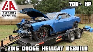 Download Rebuilding a Wrecked 2016 Dodge Hellcat Video