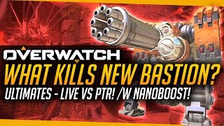 Download Overwatch   What Ultimates Kill New Bastion - PTR Comparison Video