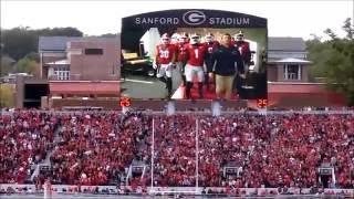 Download Georgia vs. Auburn 11/12/16: Battle Hymn and scoreboard video! Video