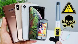 Download USB Killer vs iPhone XS Max/XR Fake, Note 9 & Juul! Instant Death? Video