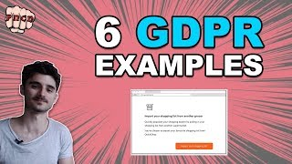 Download 6 GDPR Compliance examples - GDPR Example Video