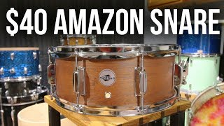 Download The CHEAPEST SNARE on Amazon - worth it? - Video