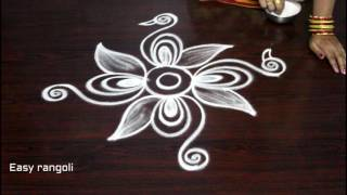Download how to draw beautiful indian peacock rangoli art designs || kolam designs || muggulu designs Video