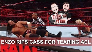 Download Fightful Wrestling's The List & Ya Boy #78: Melisa's Redemption, Big Cass Fired, Enzo, Omega, Rousey Video