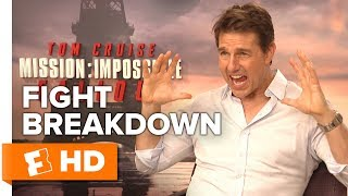 Download Tom Cruise & Henry Cavill Detail the 'Bathroom Brawl' Fight Scene   Mission: Impossible - Fallout Video