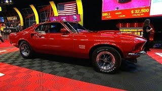 Download SOLD $260,000 - 1969 Ford Mustang Boss 429 Fastback Video