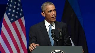 Download President Obama Addresses the People of Estonia Video