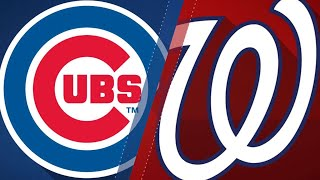 Download Baez leads Cubs to win vs. Nats in extras: 9/13/18 Video