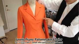 Download Making Womens Jacket With Darts by Los Angeles Patternmaker Pisano Video