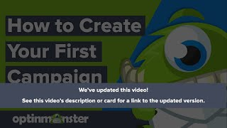 Download Creating Your First Optin with OptinMonster Video