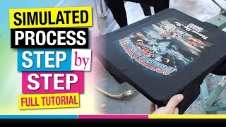 Download How to Screen Print Simulated Spot Process Step by Step Full Tutorial Video