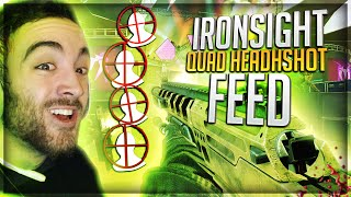 Download IRONSIGHT QUAD HEADSHOT FEED!? (BO2 Clips & Funny Moments) Video
