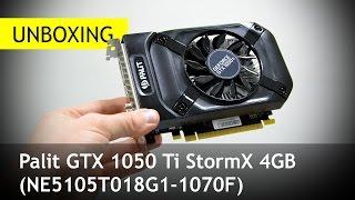 Download Palit GTX 1050 Ti StormX 4GB: Скромность украшает? Распаковка Video