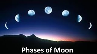 Download Phases of the Moon Explanation for kids -Animation Lesson Unit Video