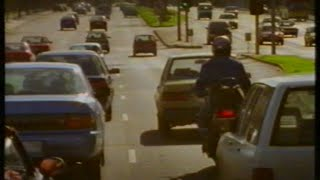 Download TAC Victoria 1997 motorcycle safety TV commercial Video
