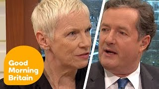 Download Piers Morgan Discusses International Women's Day With Annie Lennox   Good Morning Britain Video