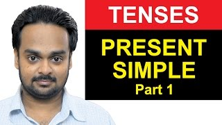 Download PRESENT SIMPLE TENSE – Part 1 – Where to Use Simple Present – Basic English Grammar Video