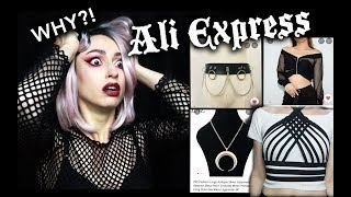 Download I SPENT OVER $100 AT ALIEXPRESS | Goth Aliexpress Haul :D Video
