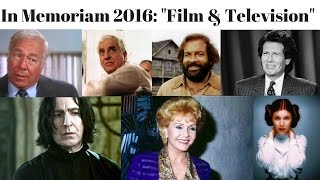 Download In Memoriam 2016: Film And Television Stars We Lost Video