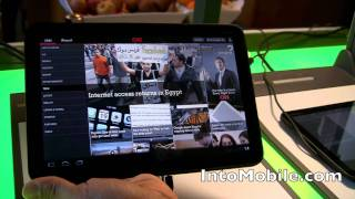 Download CNN Android Honeycomb tablet app hands-on demo from Google HQ Video