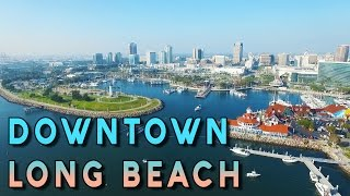 Download Amazing Aerial View of Downtown Long Beach - Phantom 3 Pro Video