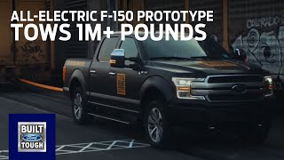 Download All-Electric F-150 Prototype: Tows 1M+ Pounds | F-150 | Ford Video