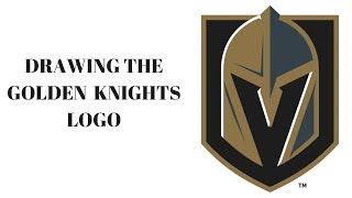 Download Drawing the Vegas Golden Knights logo Video