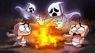 Download Minecraft | Baby Sitter - NO ADULT + GHOST STORIES! (Scary Camping Trip) Video