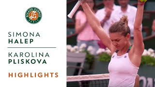 Download Simona Halep v Karolina Pliskova Highlights - Women's Semi-Final 2017 | Roland-Garros Video